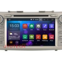 Beautytrees Quad Core In dash DVD Player Car Radio multimedia GPS Navigation system