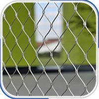 Customized stainless steel wire rope mesh