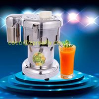 electric fruit juicing machine Stainless steel juicer commercial fruit juice machine 0.37KW apple juicerorange extractor