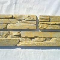 Set 3 Plastic Molds for Concrete Plaster wall stone tiles  Garden Decoration