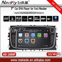 MEKEDE Two Din 7 Inch Car DVD Player For FORD/Mondeo/S-MAX/Connect/FOCUS GPS