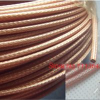 100M Efficient signal transmission shielded RF signal connecting wire 2.5mm RG316 single stranded signal wire