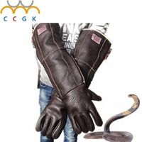 2017 Anti bite gloves 60cm safety long gloves plus thick catch animal like dog,cat,reptile,snake Pets training feeding gloves