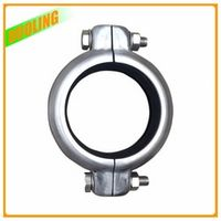 DN200 8'' stainless steel grooved coupling SS304 for tube fitting