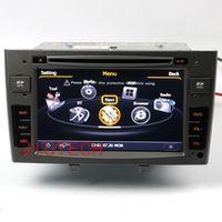 Beautytrees Car GPS DVD Satnav Autoradio Stereo Multimedia Headunit Navi for Peugeot