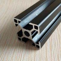 500mm 3030W Black Al profiles,4pcs/lots.