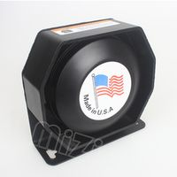 MZORANGE 200W extra thin Loud Speaker Tweeter for auto siren Neodymium material