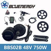 Install Tools BBS02 48V 750W 8fun Bafang Mid Drive Motor Ebike bicycle Conversion Kit