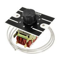 UXCELL K50-P1125 Refrigerator Heat Retaining Device W 1M Metal Cord