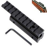 Hunting M-Armor Dovetail Weaver Picatinny Rail Adapter 11mm Extension 20mm Tactical