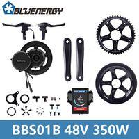 48V 350W Bafang 8Fun BBS01B Mid Crank Motor Cental Drive Electric Bike Conversion Kit