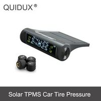QUIDUX TPMS Car Tire Pressure Detector Monitoring System Smart Solar Power charging