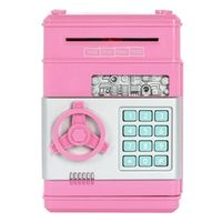 OULII Children's Money Saving Bank Deposit Box Intelligent