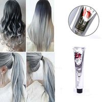 popfeel Professional 1Pcs 100ml Light Gray Color Natural Permanent Super Hair Dye