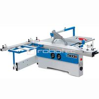 Rabotec MJ6128 sliding panel saw with lifting table wood board processing cutting