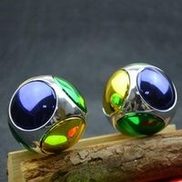 Nuofeng 1PC Multicolor Football Fingertips Gyro Round