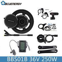 Install Tools 2018 Bafang 8Fun BBS01B 36V250W Electric Bicycle Kit Mid Crank Motor