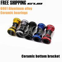GUB Ceramic BB 68 Bottom Bracket Shell 68/73MM Screw/Thread Type BSA Crankset