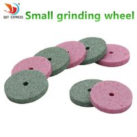 50pcs Dremel Accessories 20mm Mini Drill Grinding Wheel/Buffing Wheel Polishing Pad Abrasive Disc For Bench Grinder Rotary Tool