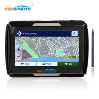 Fodsports 4.3inch Updated 256MB RAM 8GB Flash Moto GPS Navigator Waterproof IPX7 Motorcycle Car gps Navigation Free Stylus Maps