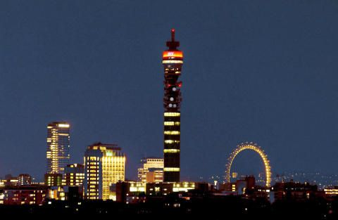 BT Tower re-opens to the public for 50th birthday celebrations