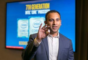 Navin Shenoy discusses the benefits of the 7th Gen Intel® Core™ processor