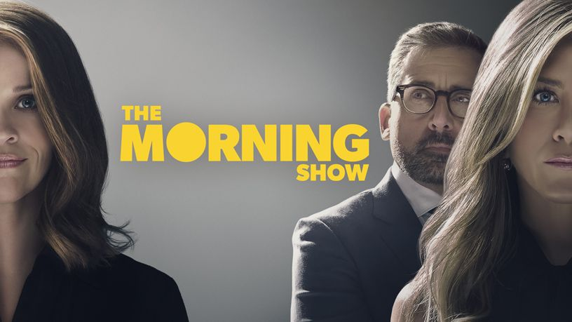 """The Morning Show"" title screen for Apple TV+."