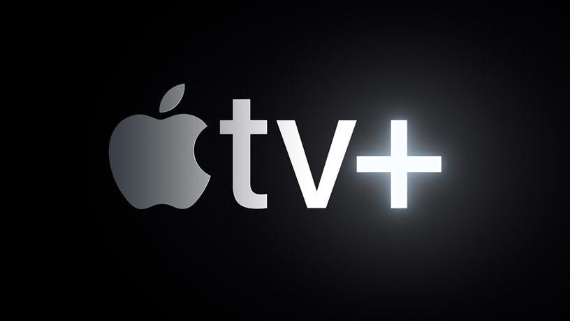 The new Apple TV+ logo.
