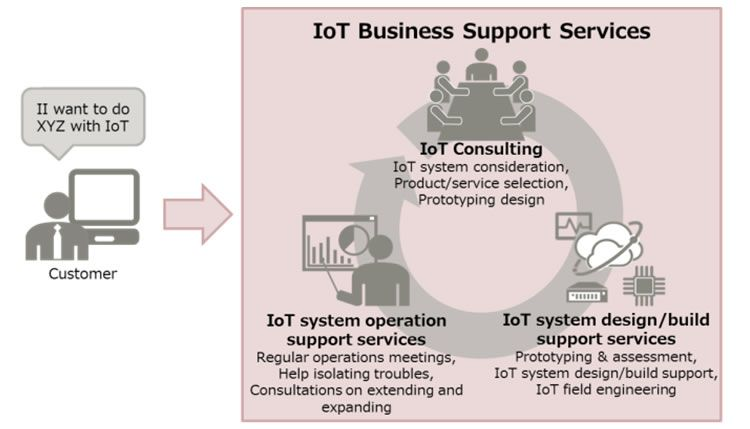 Figure 3: Overview of IoT Business Support Services