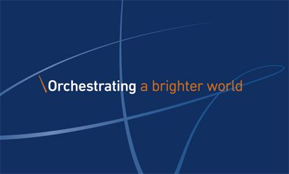 Orchestrating a brighter world.