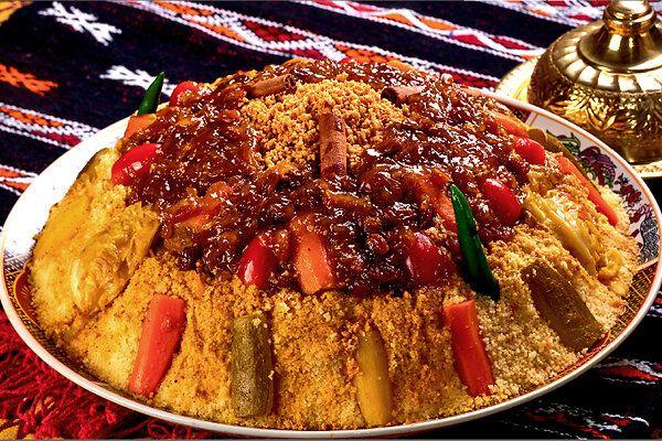 Королевский кус-кус с мясом и семью овощами: рецепт от Сталика Ханкишиева