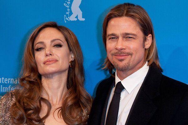 Анджелина Джоли снова злится на Брэда Питта