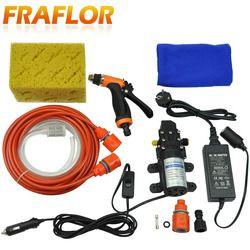 Portabel Mesin Cuci Mobil Cuci Set dengan 110-240V 220V AC/DC Adaptor, pabrik Langsung 12V Mobil Mesin Cuci Kit Menerima OEM