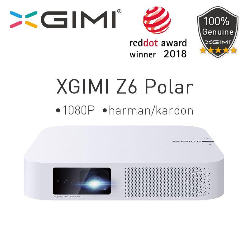 XGIMI Z6 Polar Mini DLP Full HD Projektor 1080P Heimkino 4K 700 Ansi 3D Android Wifi Bluetooth LED Projektoren Smart Beamer