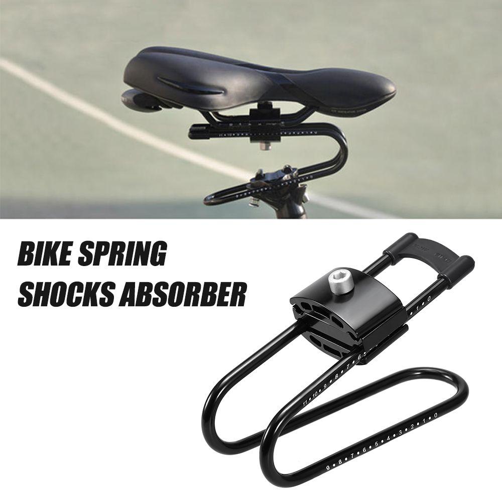Bike Shocks Absorber MTB Spring Saddle Absorber Bicycle Cycling Suspension Device Aluminum alloy Bike Shock Absorber