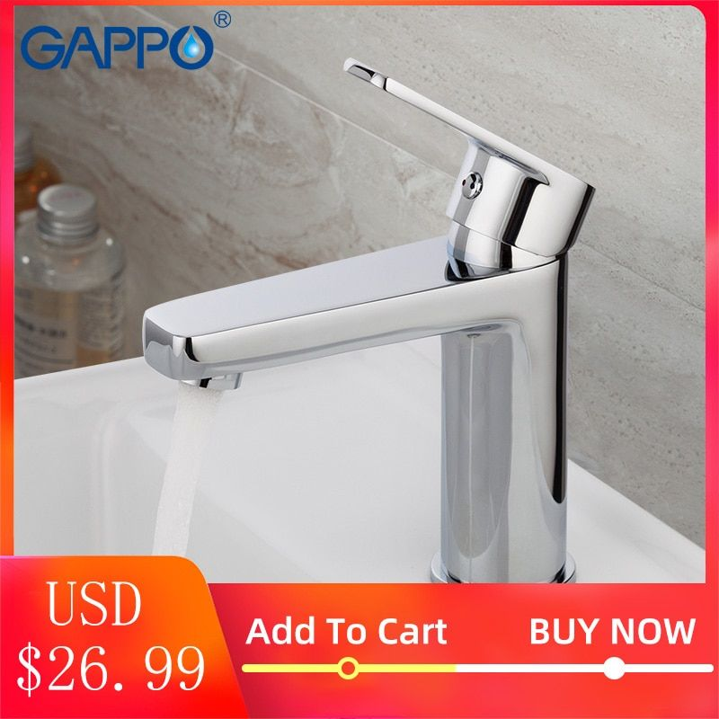 GAPPO lavabo robinet mitigeur d'eau robinet d'eau toneir robinet de bain en laiton salle de bain mitigeur lavabo mitigeur robinets salle de bain toneira