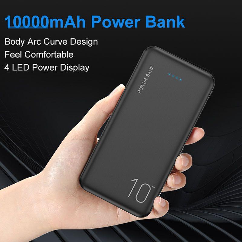 10000/20000mAh batterie externe pour Xiao mi mi 9 8 chargeur de Powerbank universel double Usb Ports Pover banque batterie externe