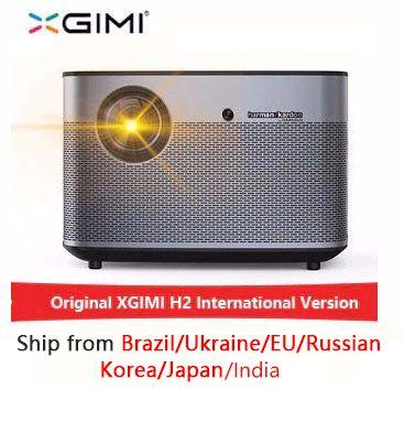 XGIMI H2 1920*1080 dlp Full HD projektor 1350 ANSI lumen 3D projektor Unterstützung 4K Android wifi Bluetooth beamer