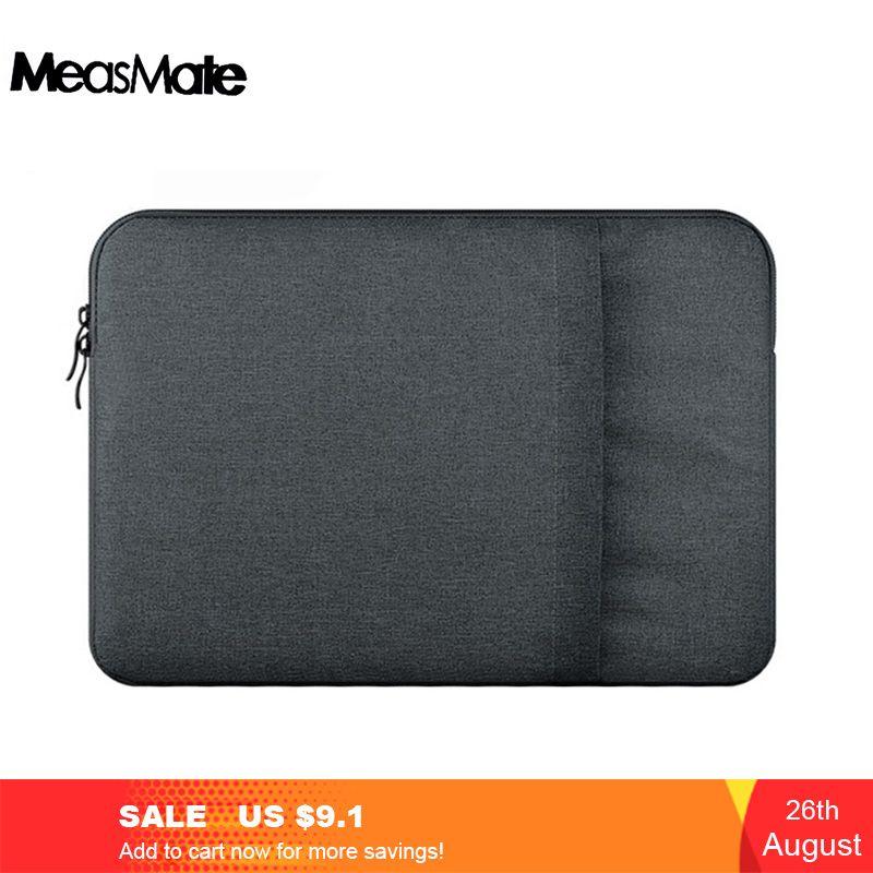 Pochette pour ordinateur portable en Nylon pochette pour ordinateur portable étui pour macbook Air 11 13 12 15 Pro 13.3 15.4 pochette de doublure unisexe Retina pour Xiaomi Air