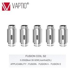 Diganti Coils untuk Fusion/Fusion 2/Fusion E Vape Kit Elektronik Rokok 10-50W Coils 0.25 /0.5/0.8ohm Coil Atomizer Head