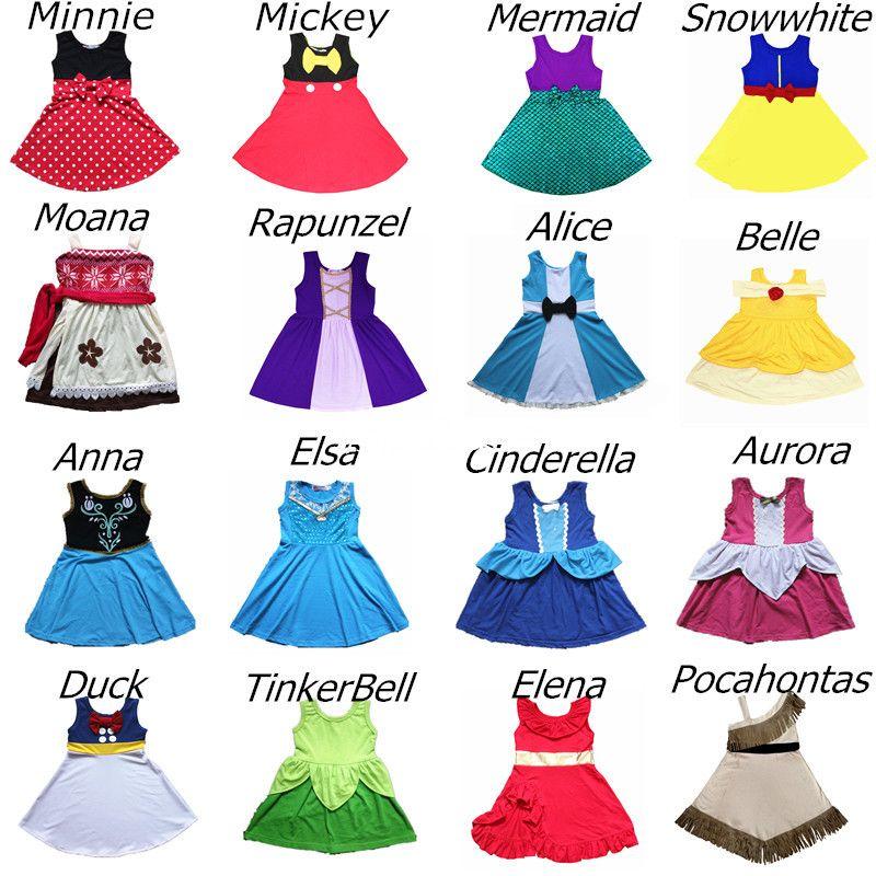 Filles princesse robe douce Halloween noël anniversaire Elsa Costume jouet histoire Buzz Belle Minnie fête Cosply robe merveille femmes