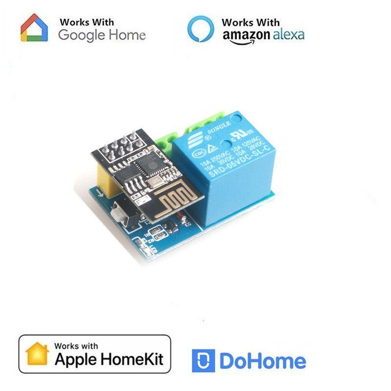 Apple HomeKit Smart Switch Für WiFi Stecker DoHome & Apple HomeKit Technologie (iOS12 oder +), alexa & Google Assistent