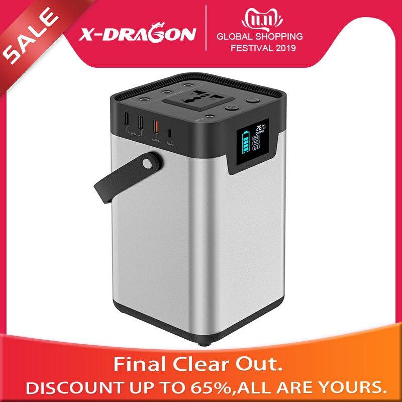 X-DRAGON Power Bank 110 V/230 V Tragbare Generator 54000mAh Tragbare Power Station UK EU Version für Im Freien camping Travlling