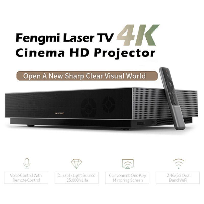 Xiaomi Fengmi L176FCN Laser Projektor TV 4K Cinema HD Projektor 150 Zoll Home Theater 2GB + 64GB 1700ANSI ALPD 3,0 3D Projektor