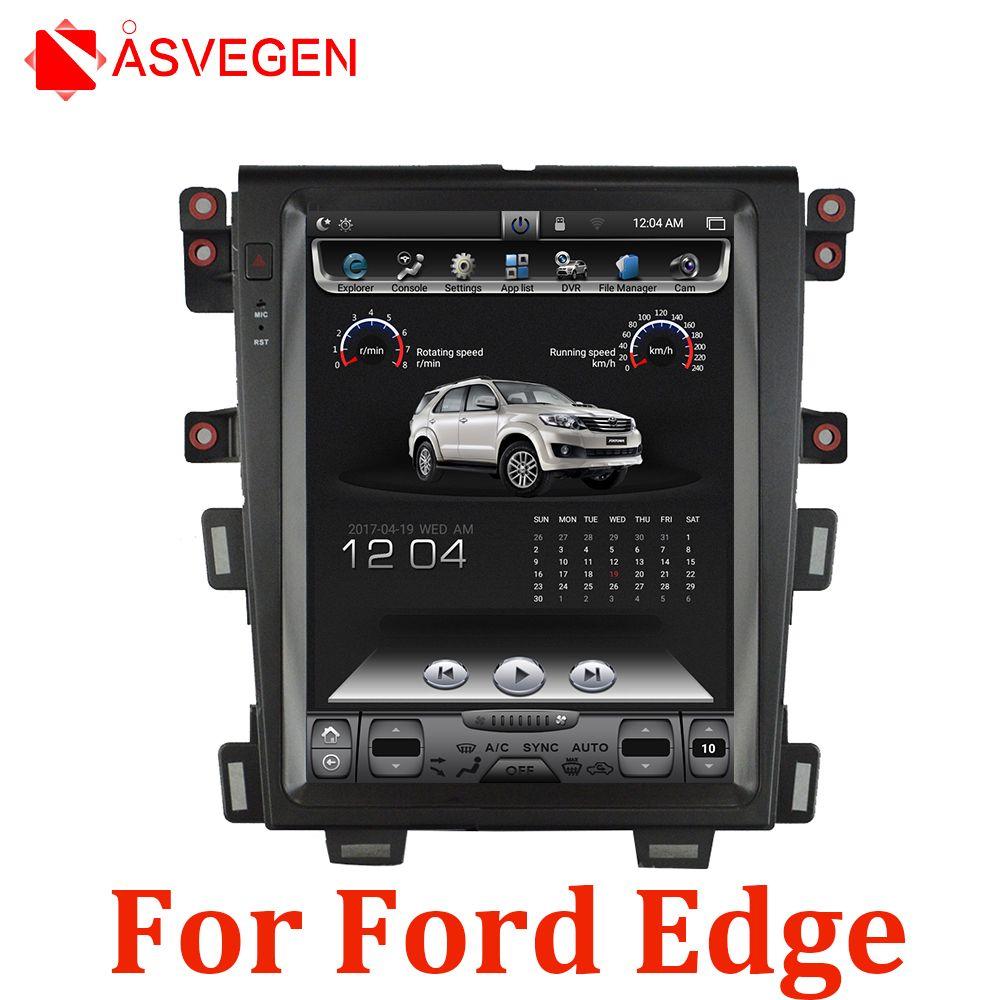 12,1 Zoll Tesla Vertikale Bildschirm Für Ford Edge Auto Multimedia Player Android 6.0 Ram 1G Rom 32G Auto Radia stereo Multimedia Einheit