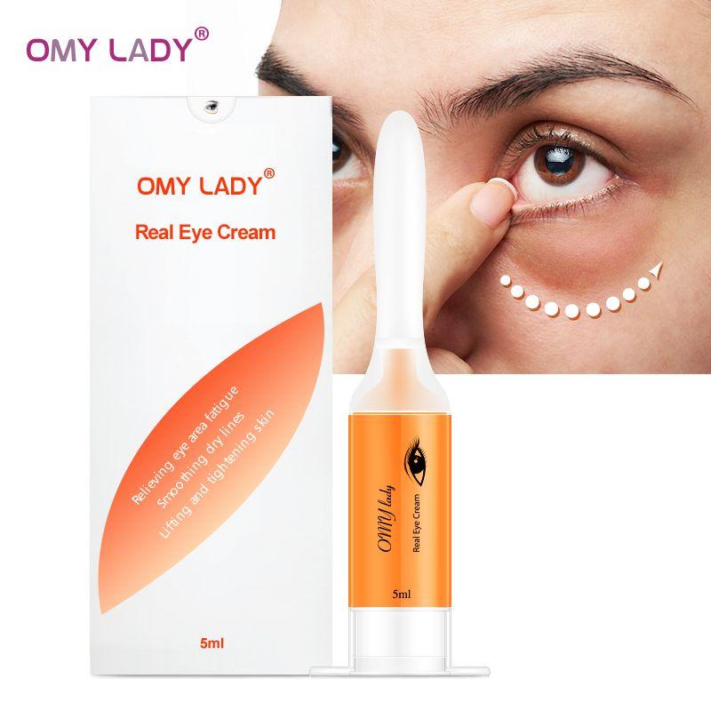 Omie LADY EyeCream instantané enlever les sacs oculaires raffermissant les yeux Anti poches cernes sous les yeux Anti-rides Anti-âge soins des yeux