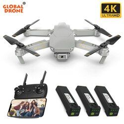 Global Drone EXA GD89 4K Drone Selfie Dron RC Drone X Pro FPV Quadcopter Drones with Camera HD Quadrocopter VS SG106 E58 E520