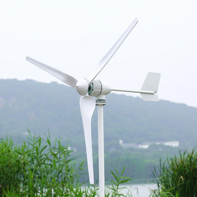 1000W Horizontale Wind Turbine Power Generator 24 V/48 V 3/5 Klingen Starten up Geschwindigkeit 2 mt/s Fit für Straße Lampen