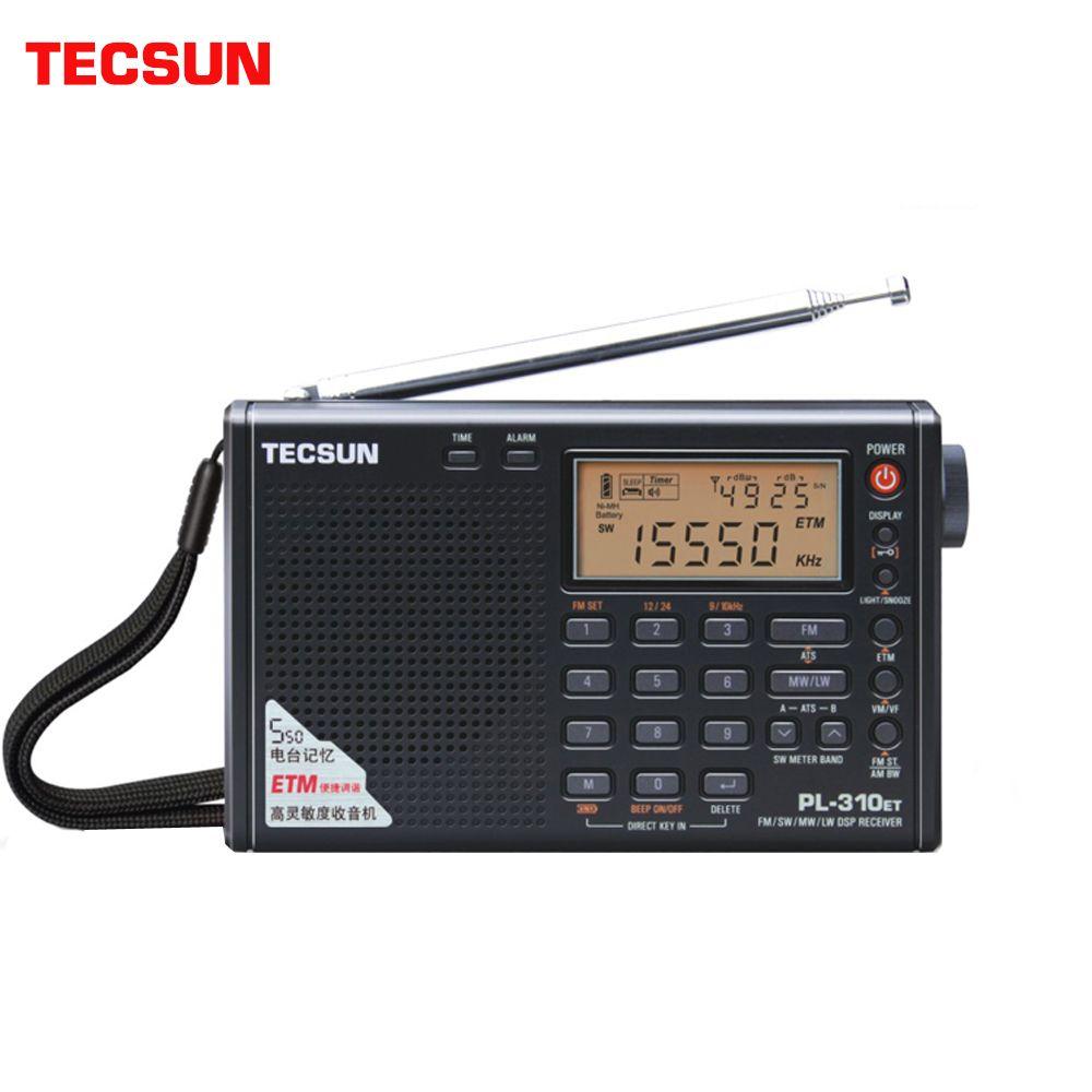 Tecsun PL-310ET Radio bande complète démodulateur numérique FM/AM/SW/LW Radio stéréo anglais russe manuel d'utilisation