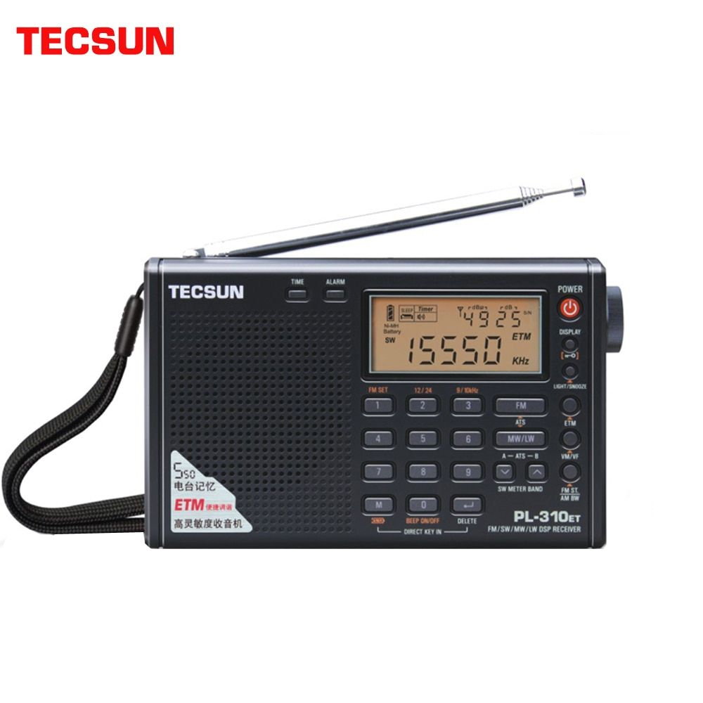 Tecsun PL-310ET Radio bande complète démodulateur numérique FM/AM/SW/LW Radio stéréo tecsun pl-310et manuel d'utilisation anglais russe